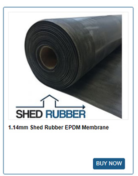 Shed Rubber EPDM Membrane