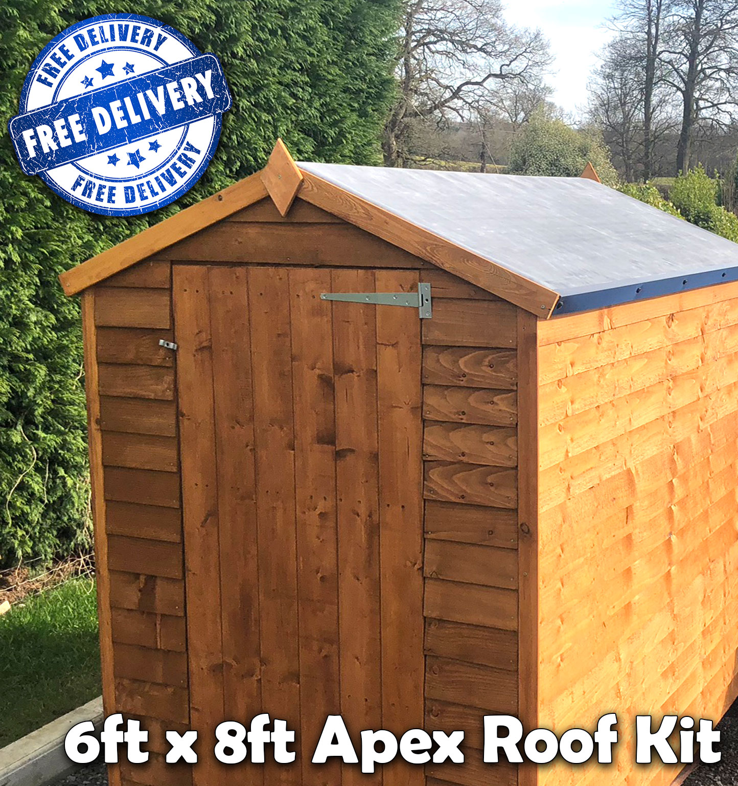 Buy Rubber Roofing For Your Shed Repair Shed Roof
