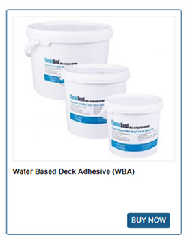 Water Based Deck Adhesive from ClassicBond
