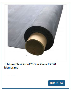FLEXI PROOF one piece roofing membrane