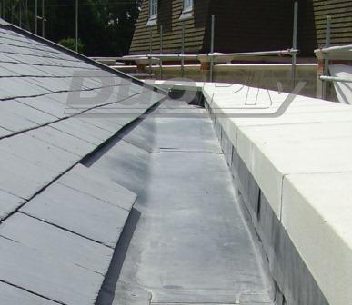 The Duoply EPDM rubber roofing membrane