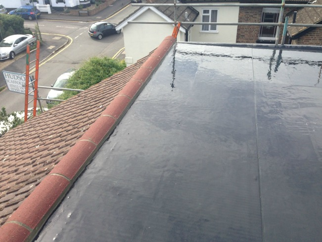 Crown roof with the Duoply EPDM rubber roofing membrane