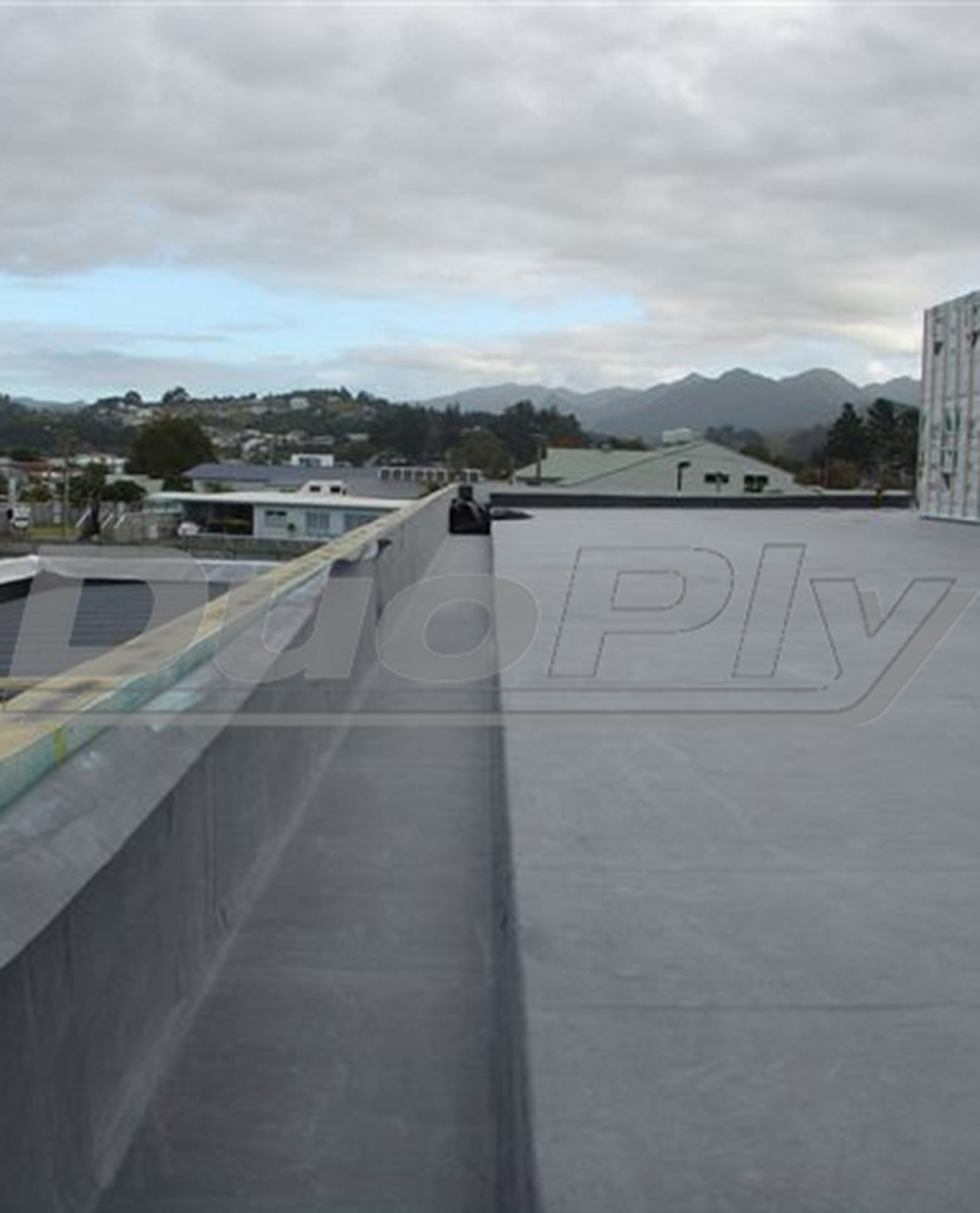 For rubber gutter relining and repair use a DuoPly EPDM rubber gutter lining